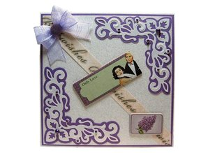 Joy!Crafts und JM Creation Joy Crafts, punching and embossing template