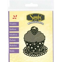 Mønstre, Sandy Art, Cupcake