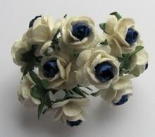 Embellishments / Verzierungen Mulberry florets, 10 Blossom
