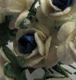 Embellishments / Verzierungen Mulberry röschen, 10 Blüte