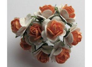 Embellishments / Verzierungen Mulberry buketter, 10 Blossom - Copy - Copy - Copy