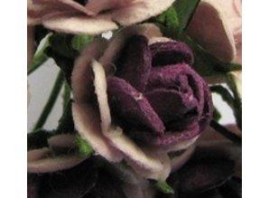 BLUMEN (MINI) UND ACCESOIRES Mulberry florets, 10 flowers