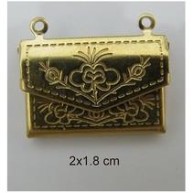 2 photo pendants