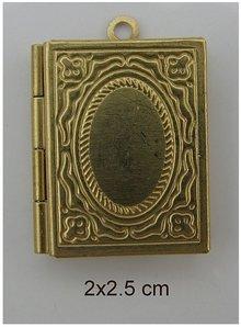 Embellishments / Verzierungen 2 foto vedhæng, bog