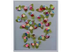 Embellishments / Verzierungen 10 floretes Mini Trio