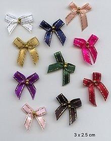 Embellishments / Verzierungen 10 Mini Slibning 3 x 2,5 cm