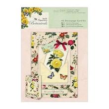 BASTELSETS / CRAFT KITS: Kit mestiere romantico per card design