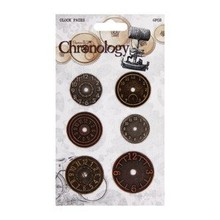 Embellishments / Verzierungen Metal watches, 6 pieces, Chronology