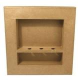 Objekten zum Dekorieren / objects for decorating Struttura 3D, quadrato, cm 30x30x4