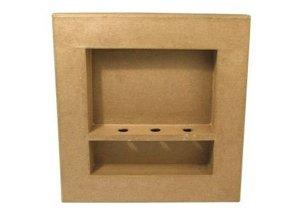 Objekten zum Dekorieren / objects for decorating 3D ramme, firkantede, 30x30x4 cm