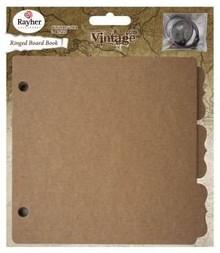 Scrapbooking ... 1 Vintage Raccoglitore ad anelli, 16,1x15,2cm