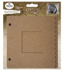 Scrapbooking ... Ringbuch m. Passepartout Fenster, 15,2x15,2cm