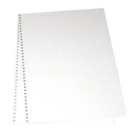 BASTELZUBEHÖR / CRAFT ACCESSORIES Papomslag for album, 22x30, 5 cm, 2 stk i pose, hvid