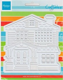 Marianne Design Stamping template: Victorian House