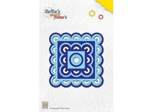 Nellie snellen Nellie Snellen Multi template for cutting, embossing and embroidery