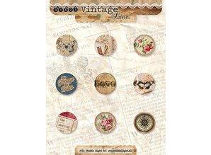 Vintage, Nostalgia und Shabby Shic No.4 Brads Vintage