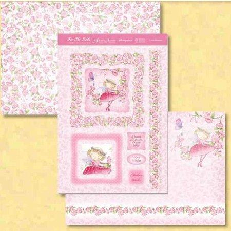 """Exlusiv Luxus Bastelset Karten-Gestaltung """"Fairy Blossom"""", (Limited)"""