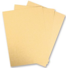 DESIGNER BLÖCKE  / DESIGNER PAPER 1 Bogen Metallic Karton, Extra KLASSE,  in brilliant gold farbe!