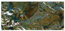 BASTELZUBEHÖR / CRAFT ACCESSORIES Metallo Deco, 14x14 cm, scheda-bag. 5 fogli, m.blau