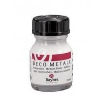 Deco-Metall-Anlegemilch, dünnflüssig, Flasche 25 ml