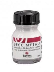 BASTELZUBEHÖR / CRAFT ACCESSORIES Deco metallo doratura, sottile, bottiglia da 25 ml