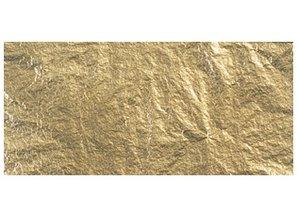 BASTELZUBEHÖR / CRAFT ACCESSORIES Deco-Metall, 14x14 cm, SB-Btl. 5 Blatt, gold