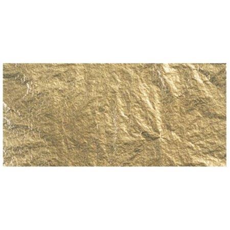 BASTELZUBEHÖR / CRAFT ACCESSORIES Metales Deco, 14x14 cm, tabuladores bolsa. 5 hojas, oro