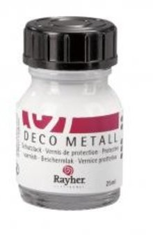 BASTELZUBEHÖR / CRAFT ACCESSORIES Vernice protettiva in metallo Deco, flacone da 25 ml