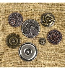Embellishments / Verzierungen Meccaniche Vintage - Meccaniche Vintage Centro