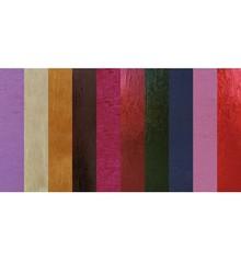 DESIGNER BLÖCKE  / DESIGNER PAPER Mønstret metallisk æske, 10 ark, 230gr