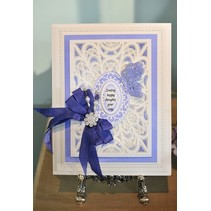 Stamping and embossing stencils, stencil Multi