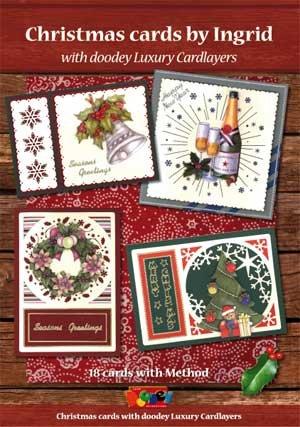 Un libro A5 di crafting per le cartoline di Natale