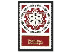 KARTEN und Zubehör / Cards Luxury card layer 1Set with 3 cards, 10.5 x 14.85 cm