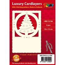 Luksus kortlaget 1Indstil med 3 kort, 10 x 15 cm