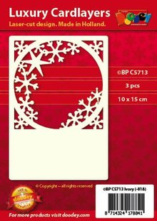 KARTEN und Zubehör / Cards Luxury Cards Pad 1Set with 3 cards, 10 x 15 cm