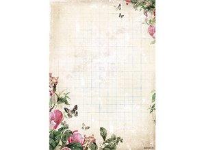 Vintage, Nostalgia und Shabby Shic Base sheet, A4 170gr