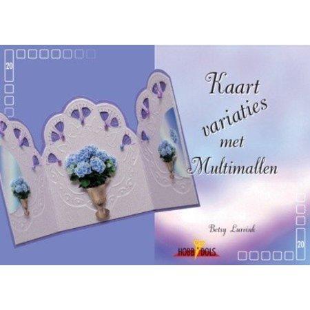 Buch Hobbydols 20 - Karten Variationen met Multi Schablonen