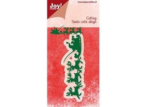 Joy!Crafts und JM Creation Joy Crafts, presning og prægning mappe, Santa Claus med Schlitte