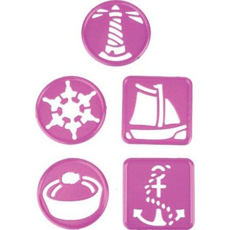 Joy!Crafts und JM Creation Alegría manualidades, y el estampado de la plantilla