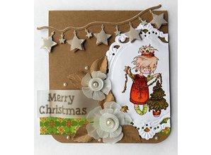 Marianne Design Marianne Design, Craftables, Girlanda mit Sterne