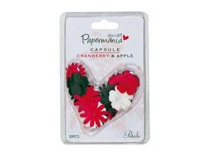 Embellishments / Verzierungen 30 Blüten Blätter