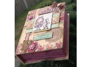 Objekten zum Dekorieren / objects for decorating Holzschachtel in Buchform in 4 verschiedenen Größen
