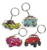 Kinder Bastelsets / Kids Craft Kits SchrumpffolienSet Crazy Cars