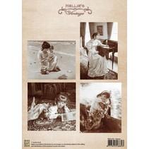 Imágenes vintage - hoja A4