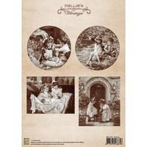 Vintage Bilder - A4 Bogen