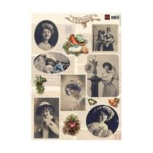 BILDER / PICTURES: Studio Light, Staf Wesenbeek, Willem Haenraets Vintage Bilder - A4 Bogen
