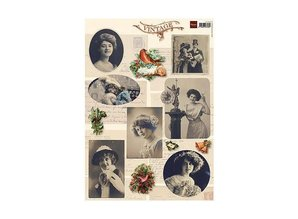 BILDER / PICTURES: Studio Light, Staf Wesenbeek, Willem Haenraets Vintage Images - A4 sheet