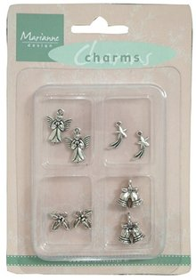 Marianne Design Metal - Charms 4x2 st. Vinter