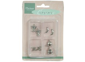 Marianne Design Metal - Charms 4x2 st. Invierno