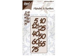 Joy!Crafts und JM Creation Prægning og udskæring skabelon